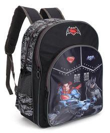 DC Comics Batman Print School Bag Black - 16 inch