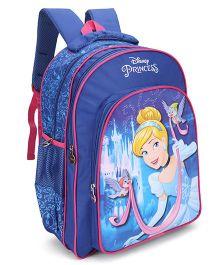 Disney Princess Cinderella School Bag Blue - 18 inch