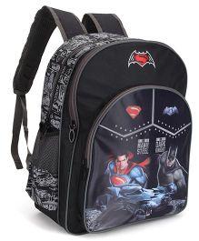 DC Comics Batman Print School Bag Black - 14 inch