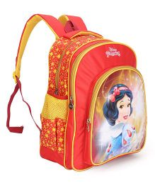 Disney Princess Snow White School Bag Red Yellow - 16 inch