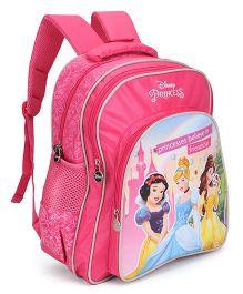 Disney Princess Friendship Print School Bag Pink - 16 inch