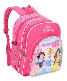 Disney Princess Printed School Bag Pink - 14 inch