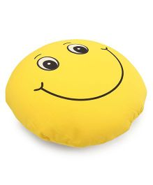 Dimpy Stuff Happy Smiley Cushion - Yellow
