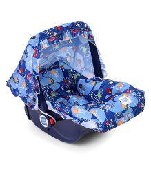 Mee Mee 5 In 1 Baby Cozy Carry Cot Cum Rocker - Blue