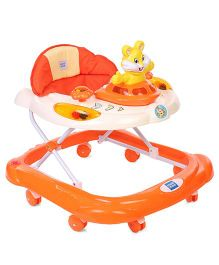 Mee Mee Musical Baby Walker Rabbit Toy - Orange
