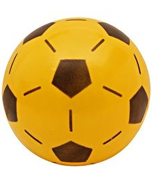 Pentagon print ball - Yellow