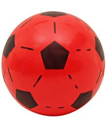 Pentagon print ball - Red