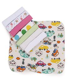Babyhug Baby Wash Cloth Pack Of 8 - Multicolor