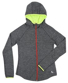 Tyge Sports Hooded Jacket - Grey