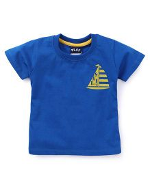 Play by Little Kangaroos Half Sleeves T-Shirt - Blue