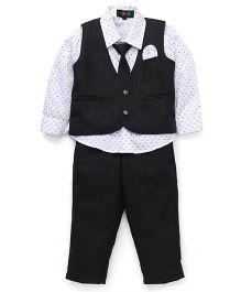 Robo Fry Party Suit - Black White