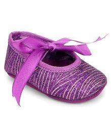 Barbie Bellies Style Booties - Purple