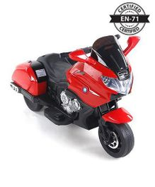 Babyhug Battery Operated Motor Bike Ride On - Red And Black