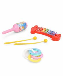 Ratnas Musical Rattle Set - Multicolor