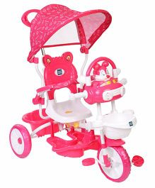 Mee Mee Tricycle With Printed Canopy - Pink
