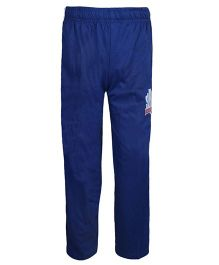 Haig-Dot Solid Color Bottoms With Print - Royal Blue