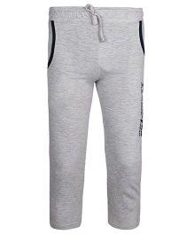 Haig-Dot Solid Color Lounge Pants - Light Grey