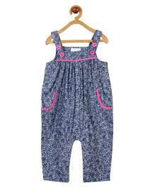 My Lil Berry Chambray Dungaree - Blue