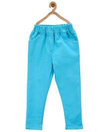 Stylestone Stretchable Denim Jeggings - Turquoise Blue