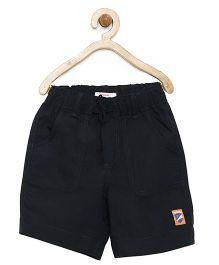 Campana Shorts With Drawstring - Black