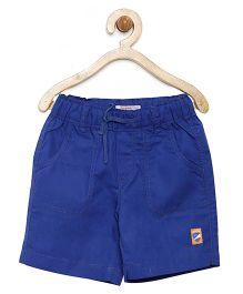 Campana Shorts With Drawstring - Royal Blue
