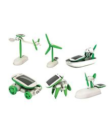 Smartcraft Educational 6 In 1 Solar Power Energy Robot Toy Kit