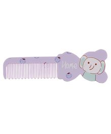 Adore Baby Comb Bear Shape - Purple
