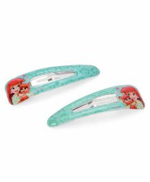Disney Hair Clip Pack Of 2 - Blue