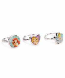 Disney Princess Rings - 3 Pieces