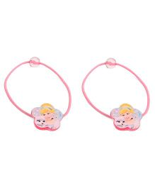 Disney Princess Hair Elastics Pack Of 2 - Pink