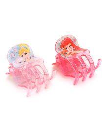 Disney Princess Hair Clutch Set Of 2 - Pink