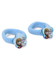 Disney Frozen Hair Rubber Band Pack Of 2 - Blue