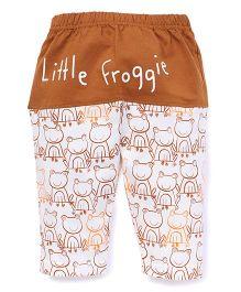 Mini Taurus Lounge Pants Little Froggie - Brown