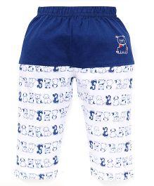 Mini Taurus Lounge Pants Puppy Print - Blue