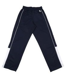 Tyge Sporty Tracks With Contrast Piping - Navy