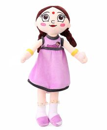 Chhota Bheem Chutki Rag Doll Purple - Height 50 cm