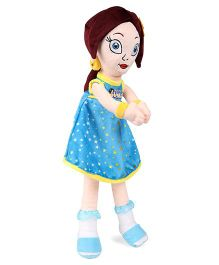 Chhota Bheem Princess Indumati Rag Doll Blue - Height 50 cm