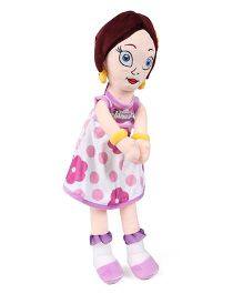 Chhota Bheem Princess Indumati Rag Doll Purple & Pink - Height 50 cm