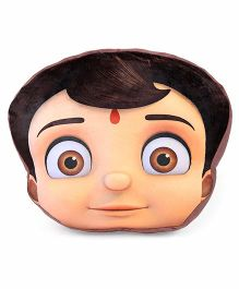Chhota Bheem Face Cushion - Multicolor