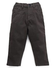 Gini & Jony Full Length Trousers - Dark Olive