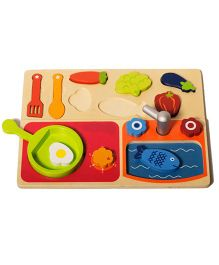 Shumee Wooden Kitchen Pretend Set