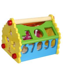 Shumee Shape and Number House - Multi Color