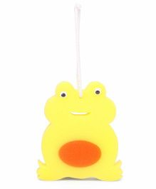 Adore Baby Bath Sponge Frog Shape (Colors May Vary)