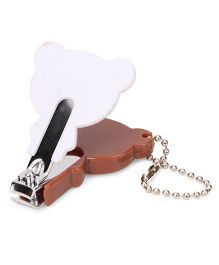 Adore Baby Cartoon Nail Clipper Brown (Character May Vary)