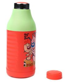 Pratap Hy Cool Insulated Water Bottle Red & Green - 520 ml
