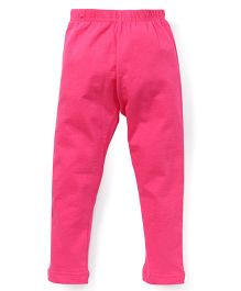Cucu Fun Solid Color Leggings - Pink