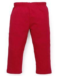 Cucu Fun Solid Colour Capri - Red