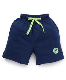 Cucu Fun Shorts With Drawstrings - Navy