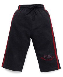 Cucu Fun Three Fourth Pants - Dark Grey