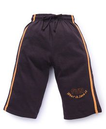 Cucu Fun Three Fourth Pants - Brown